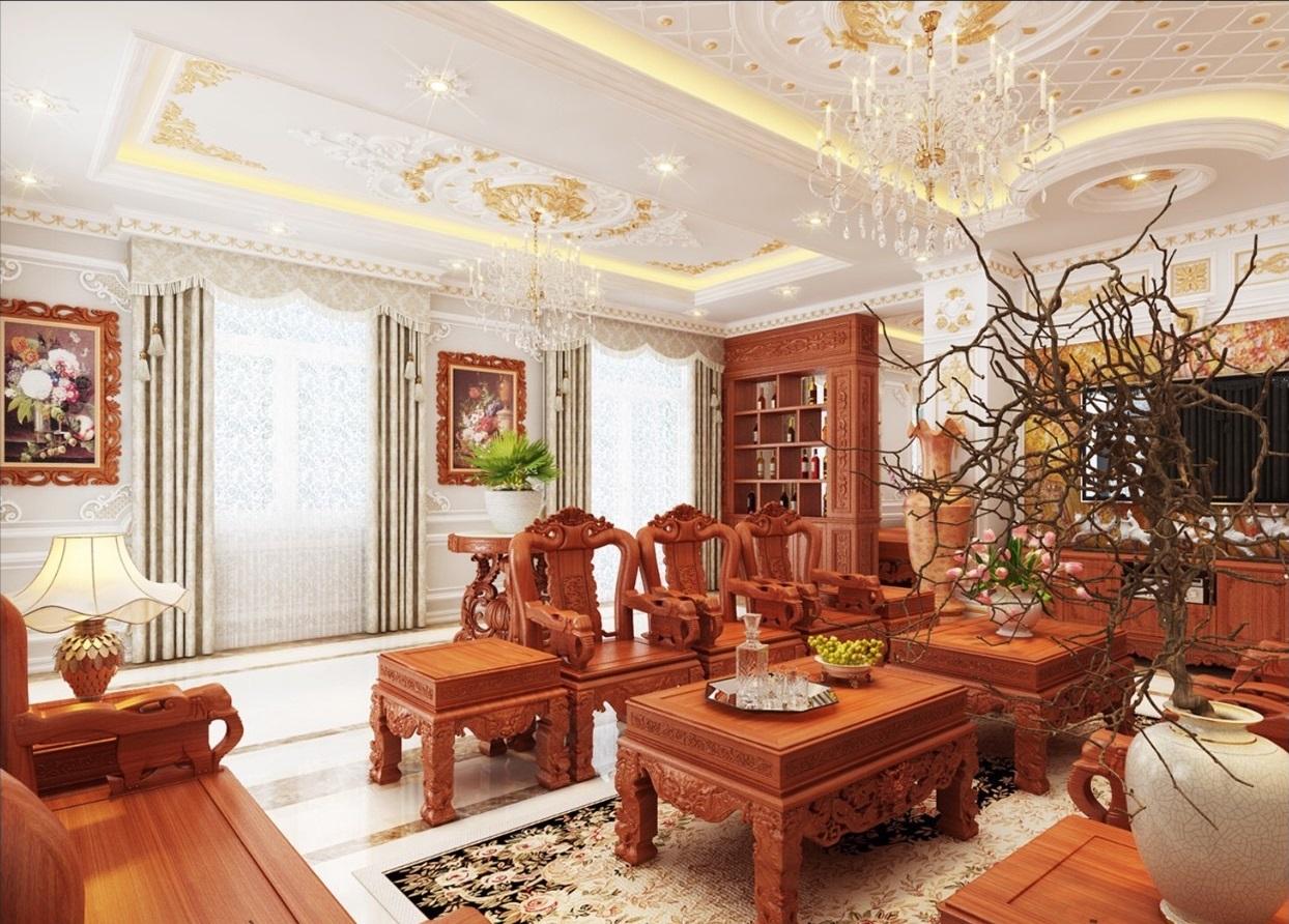 Thiết kế thi công nội thất cổ điển quận 2