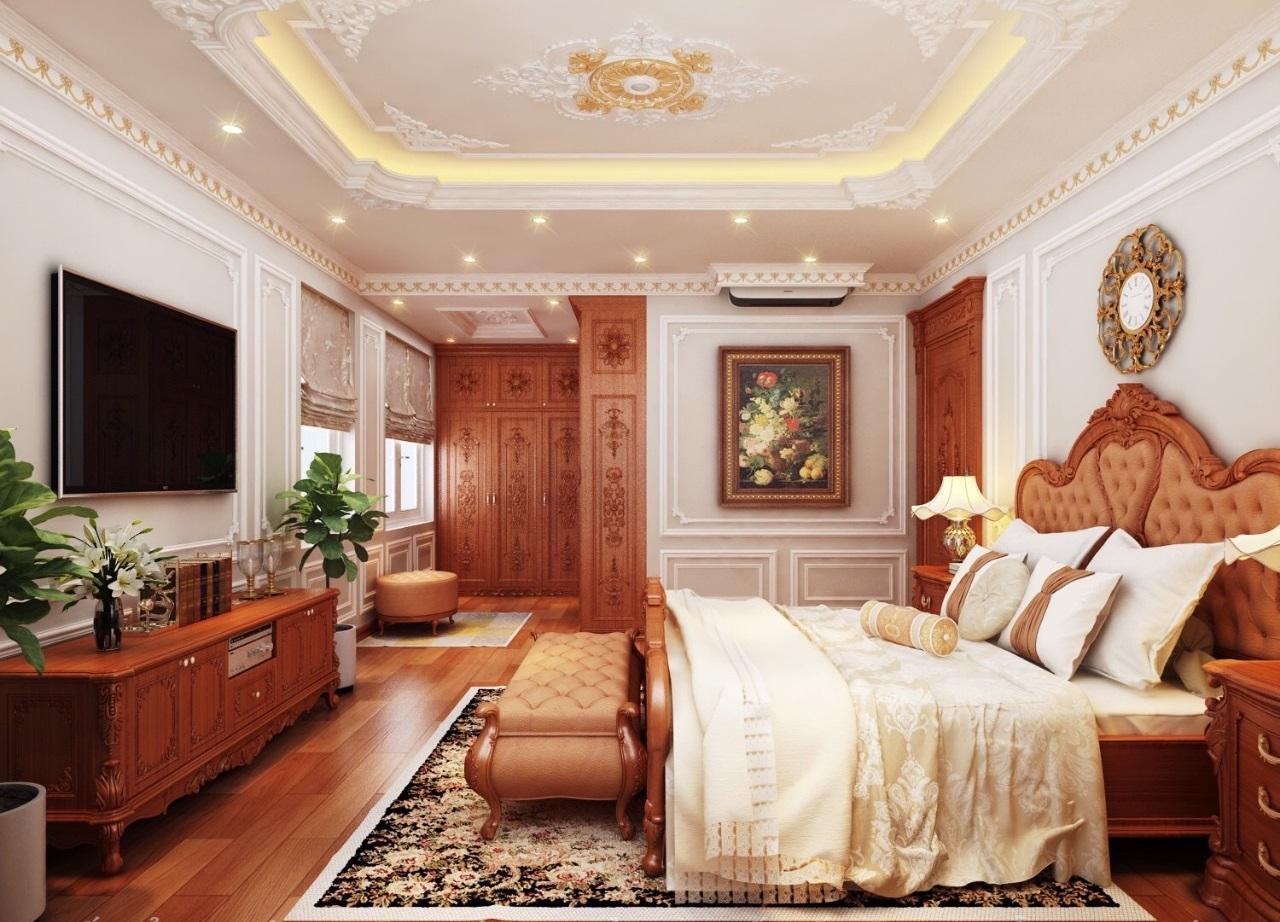 Thiết kế thi công nội thất cổ điển quận 5