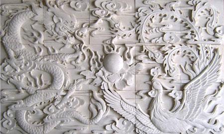 điêu khắc hoa văn