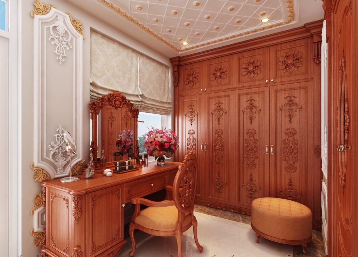 Thiết kế thi công nội thất cổ điển quận 1