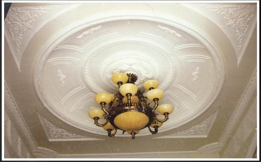 thiết kế trần thạch cao cổ điển - tân cổ điển quận 7